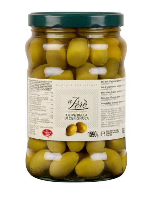 Olive bella di cerignola grandi-nuovo